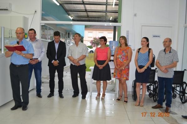 Inaugurada a nova UBS de Nova Palma