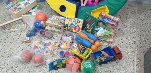 Novos brinquedos na EMEI Aquarela