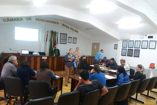 Elaboração do Manual de BPF das agroindústrias familiares aconteceu em Nova Palma