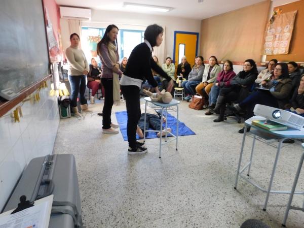 Tema dos Primeiros Socorros foi abordado na EMEI Aquarela
