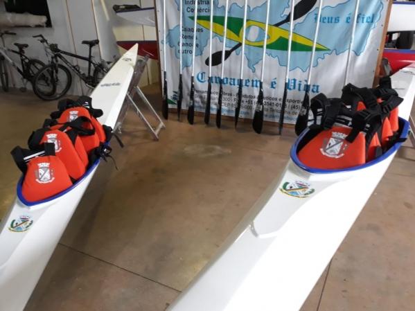 Aulas de canoagem serão ministradas em Nova Palma