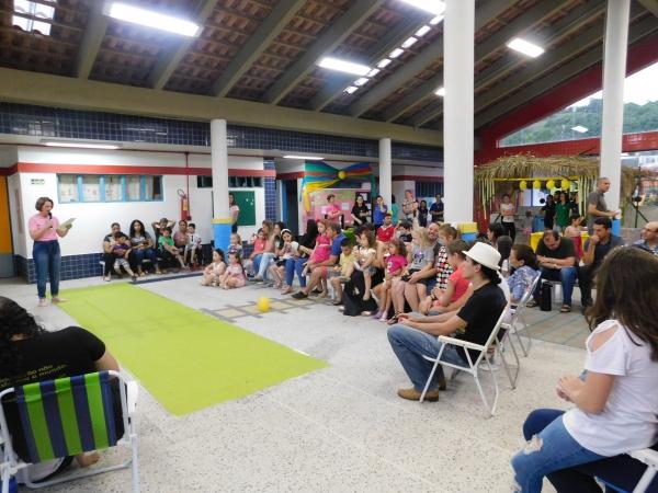 EMEI Aquarela realizou Mostra Pedagógica do Projeto A UNIÃO FAZ A VIDA