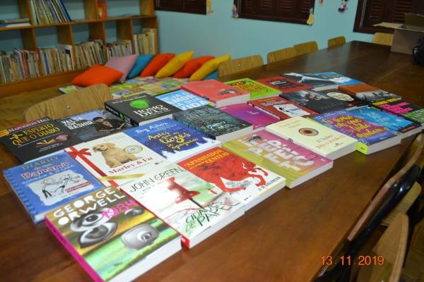 Novos livros na Biblioteca Municipal