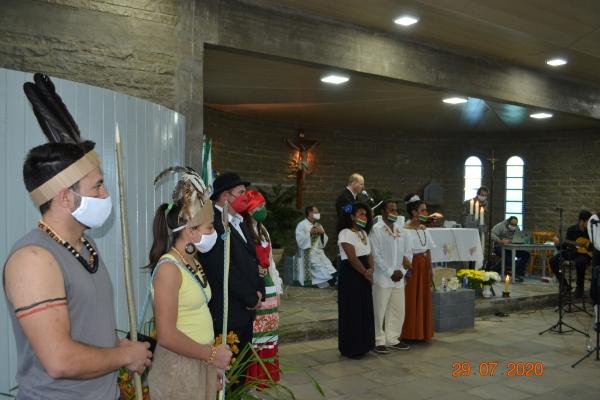 Missa em Ação de Graças e Live Café completaram celebração de 60 Anos de Nova Palma!
