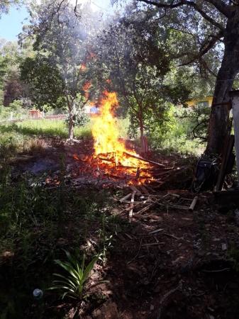 Secretaria de Agricultura alerta sobre riscos de fogo para limpeza em áreas urbanas