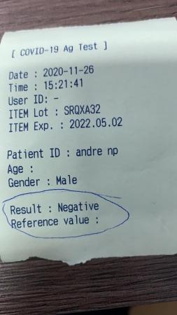 Prefeito testa negativo para Covid-19