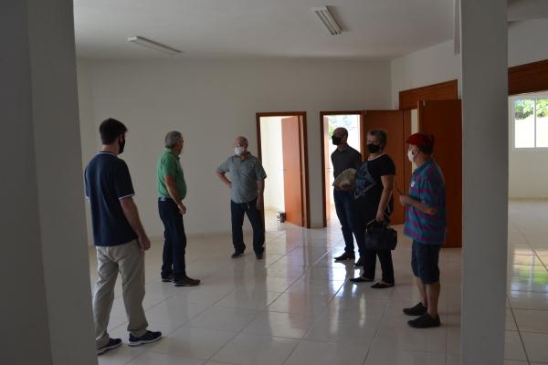Museólogo da UFSM visita Centro Cultural de Nova Palma