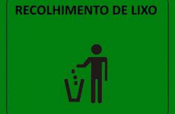 Informativo - Recolhimento de lixo no interior