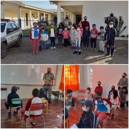 Semana do Trânsito foi trabalhada na Escola Santo Inácio